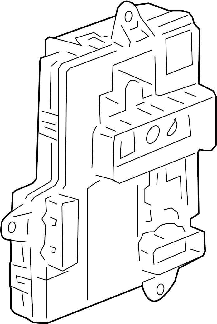 2008 Pontiac G5 Body control module. Module assembly