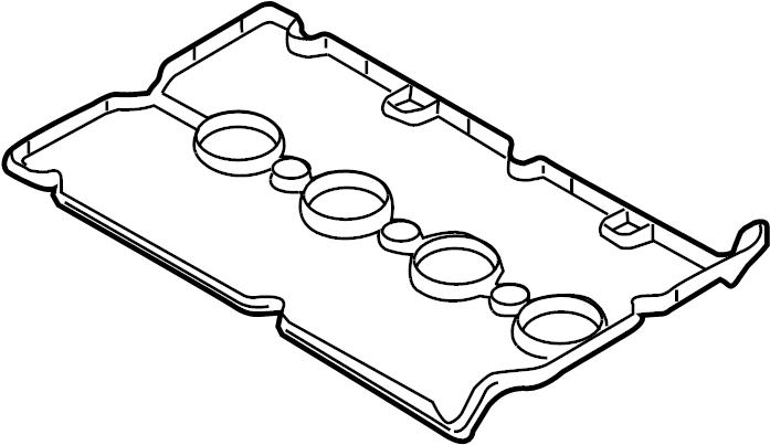 Chevrolet Aveo Engine Valve Cover Gasket. 1.8 LITER. 2009