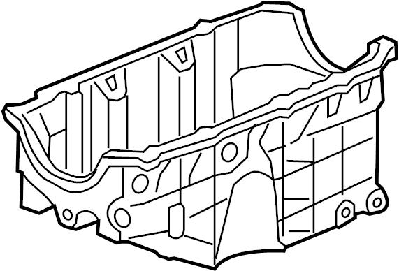 Pontiac Montana Engine Oil Pan. LITER, BEARINGS, Maxx
