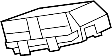 Chevrolet Malibu Junction Block. UNDER HOOD, 2.4 liter, w