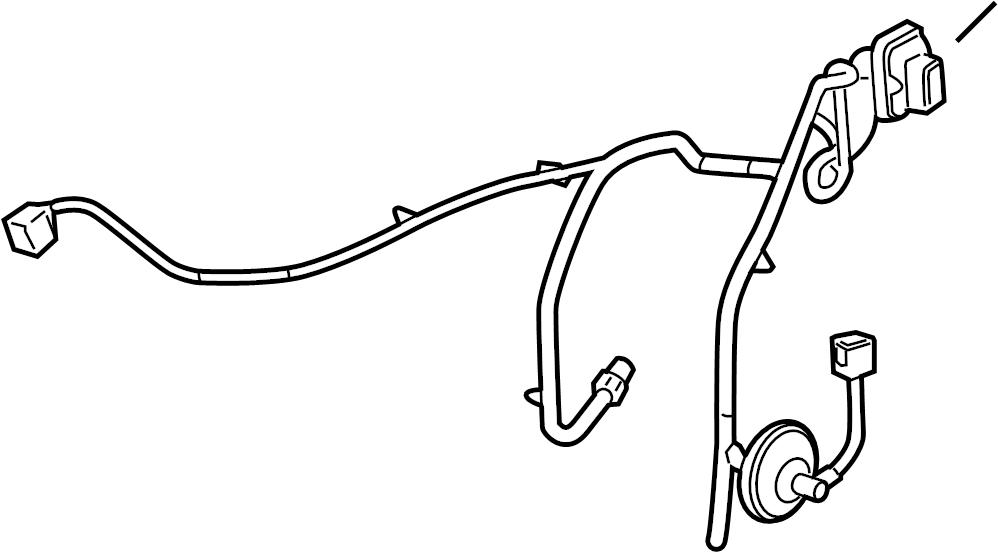 Chevrolet Malibu Door Wiring Harness. W/premium audio