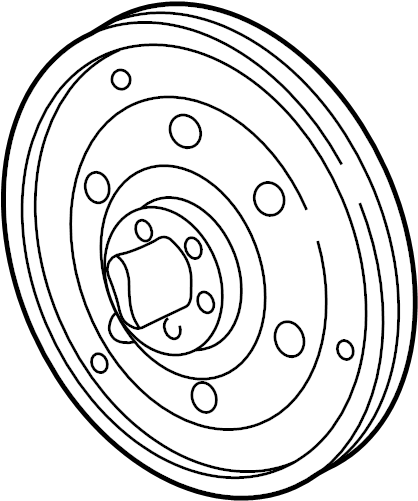 Chevrolet Corsica Automatic Transmission Flexplate. ENGINE