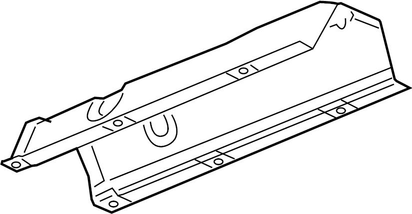 2007 Saturn Aura Shield. Heat. Exhaust. (Rear). LITER