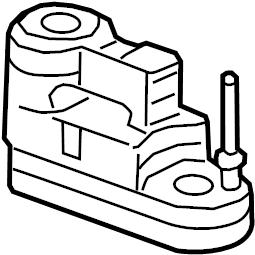 Cadillac ATS Tire Repair Kit. COMPARTMENT, TRUNK, INFLATOR