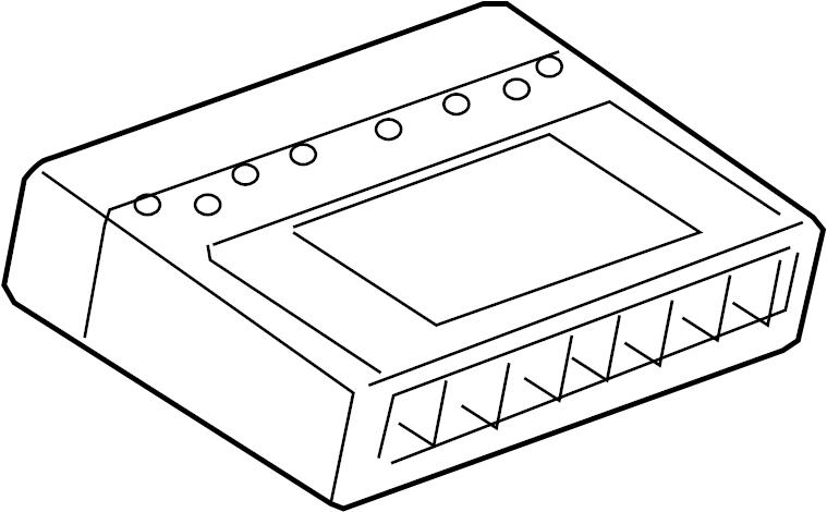 Chevrolet Express 2500 Body Control Module. PANEL