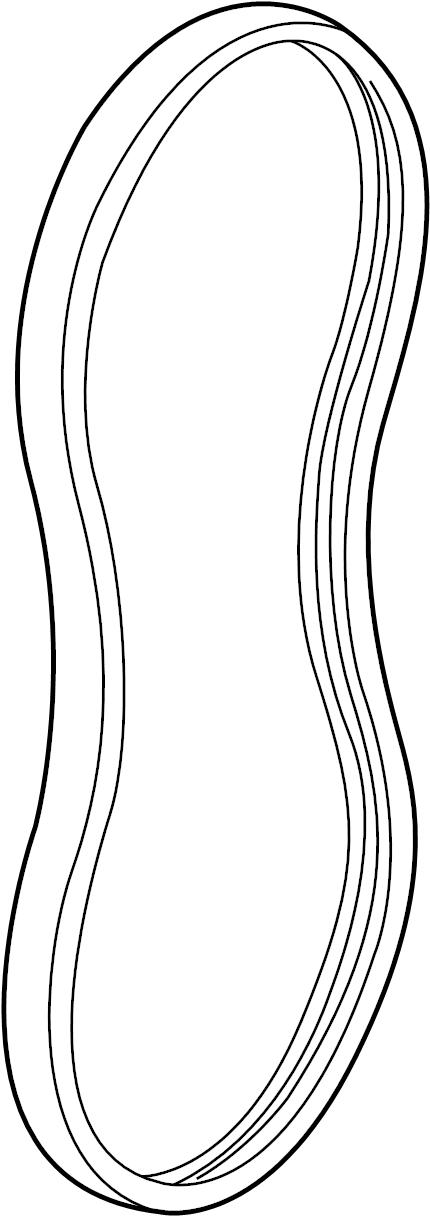 Oldsmobile Alero Serpentine Belt. Drive, LITER, Having