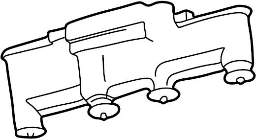 Pontiac Grand Am Cover. Ignition coil housing. 2.3 & 2.4
