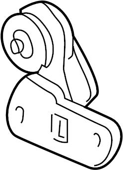 1998 Oldsmobile Tensioner. Belt. Drive. Accessory. Pump