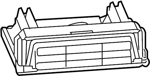 Pontiac Grand Prix Engine Control Module. 3.8 LITER. Grand