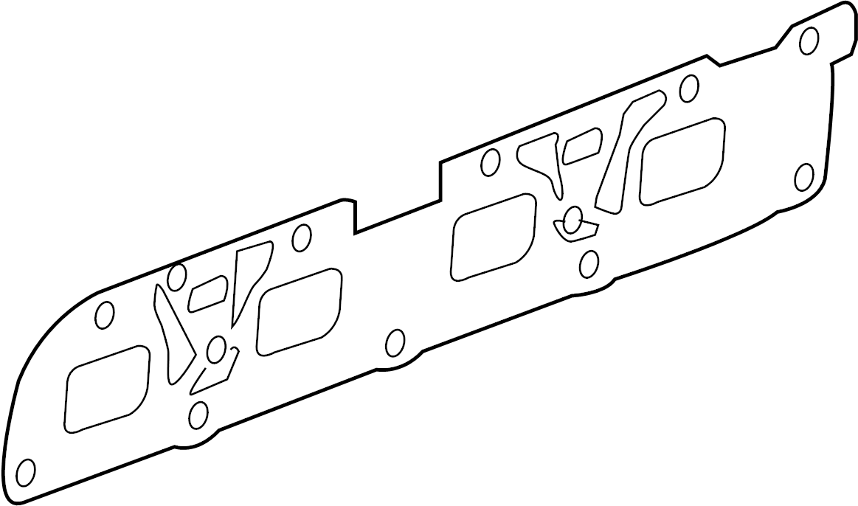 Buick Verano Exhaust Manifold Gasket. GASKET, EXHAUST
