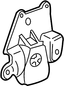 Chevrolet Cavalier Automatic Transmission Mount. Engine
