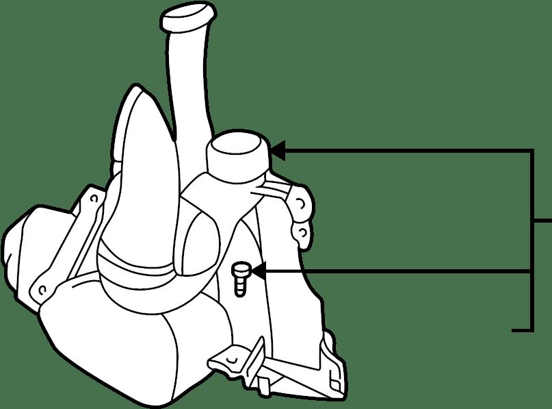 Chevrolet Cavalier Engine Air Intake Hose. 2.2 LITER, W/O