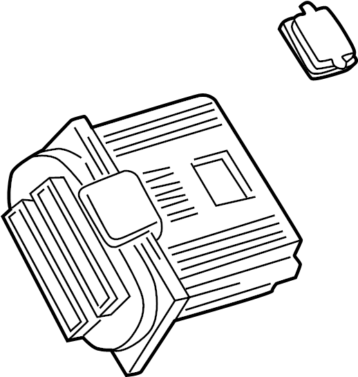 Chevrolet Venture Engine Control Module. Liter