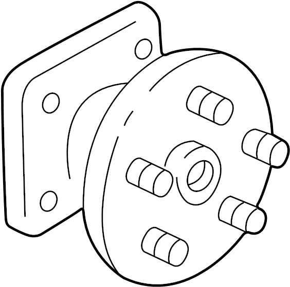1999 Oldsmobile Silhouette Wheel Bearing and Hub Assembly