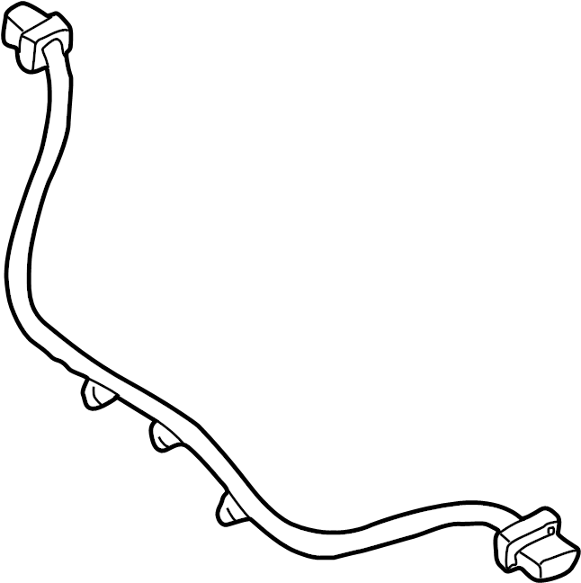Chevrolet Venture Abs wheel speed sensor wiring harness