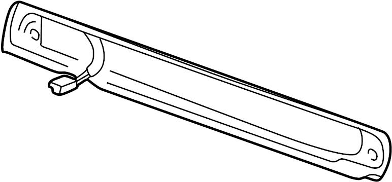 Chevrolet Silverado 2500 Connector. Harness. Sensor. Wire