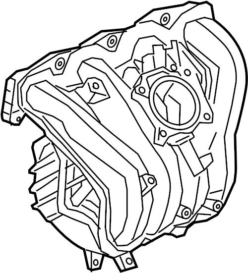Chevrolet Cobalt Engine Intake Manifold. LITER, Hybrid