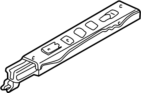 Oldsmobile Alero Seat. Frame. DRIVER SIDE, 4 WAY W/O POWER