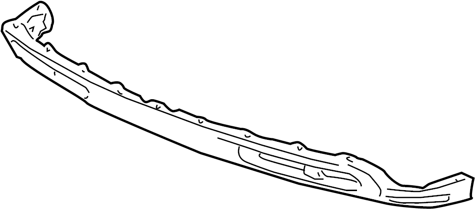 GMC Sierra 2500 HD Valance Panel (Front, Lower). BUMPER