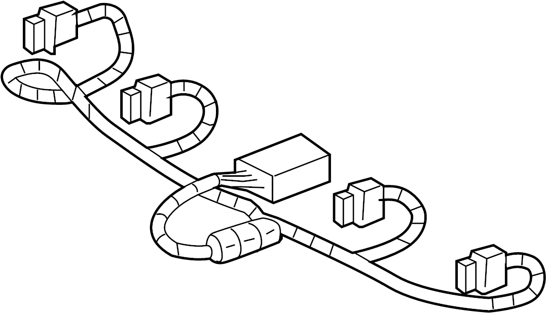 Hummer H3T Engine Wiring Harness. LITER, Wire, Plug