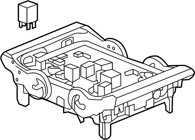 Cadillac Escalade ESV Junction Block. ENGINE COMPARTMENT