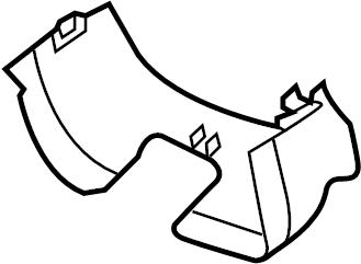 GMC Sierra 1500 Steering Column Cover (Upper, Lower