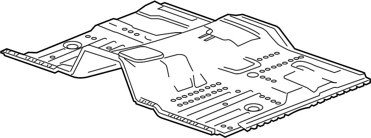 Cadillac Escalade ESV Floor Pan. CAB, Shift, Case