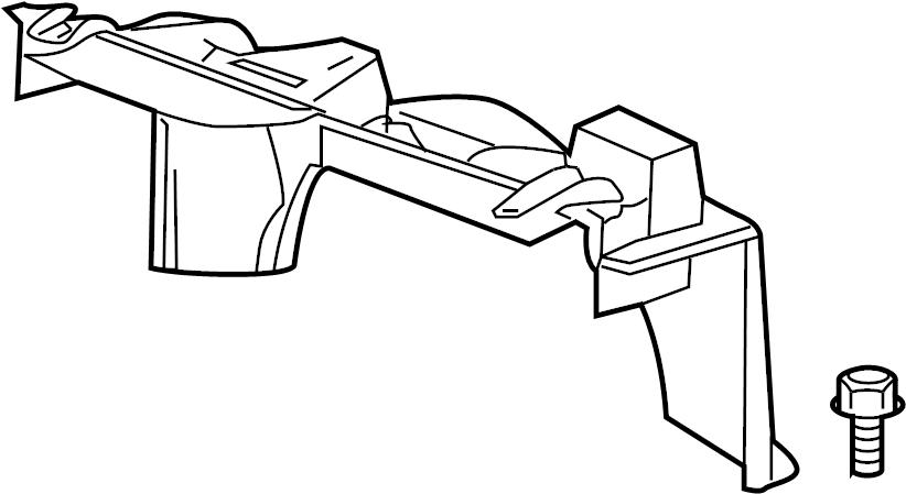 GMC Savana 3500 Engine Cooling Fan Shroud (Upper). Make