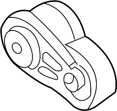 2010 Accessory Drive Belt Tensioner Assembly. SERPENTINE