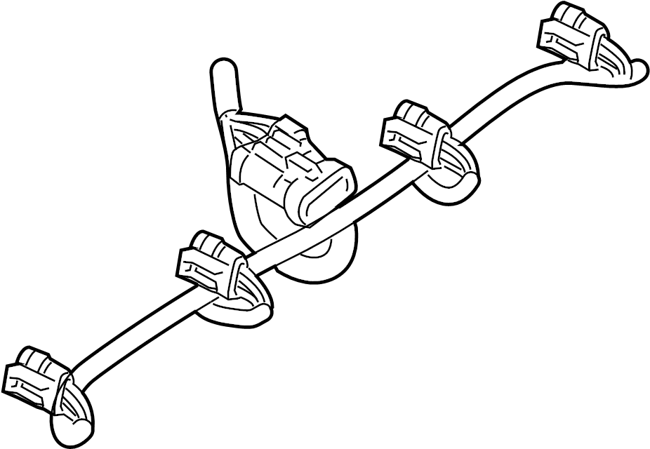 Chevrolet Silverado 1500 Engine Wiring Harness. LITER
