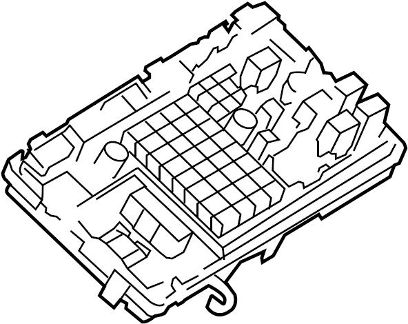 GMC Savana 2500 Junction Block. JUNCTION BLOCK, ENGINE