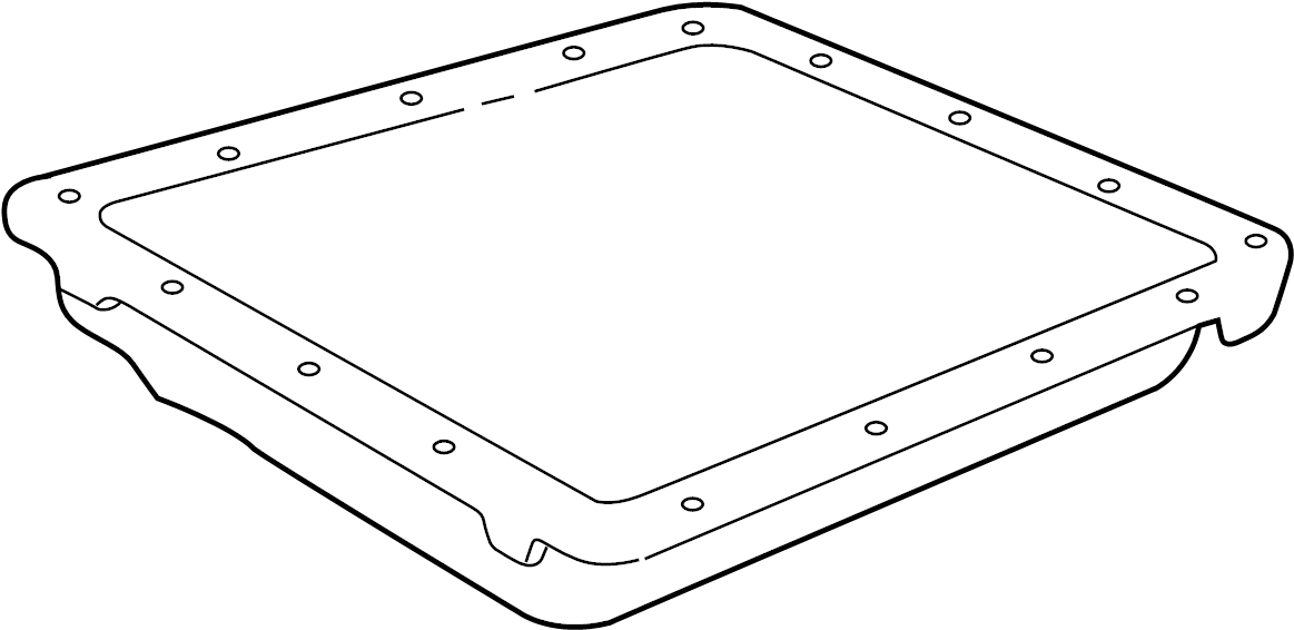 GMC Sierra 3500 HD Automatic Transmission Oil Pan