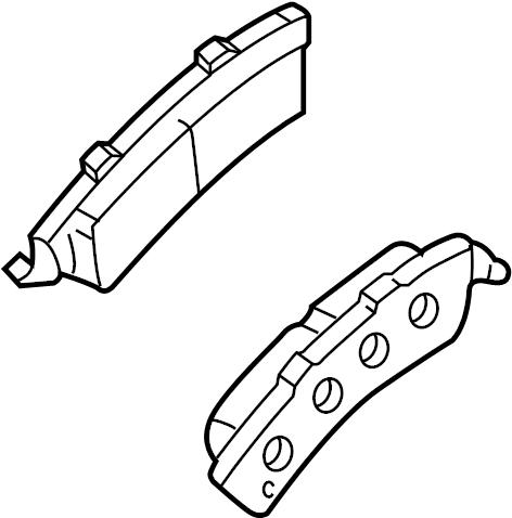 2007 Chevrolet Pad kit. 1 ton. 3/4 ton, 8500 & 8600 gvw. W