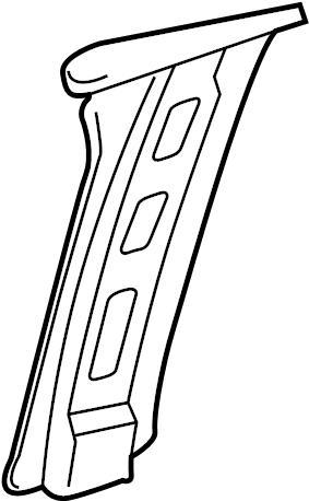 2006 Chevrolet Belt. Seat. Plate. Anchor. REINFORCED