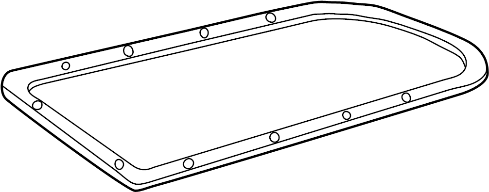 Chevrolet Avalanche 2500 Pan. Gasket. Oil. Transmission