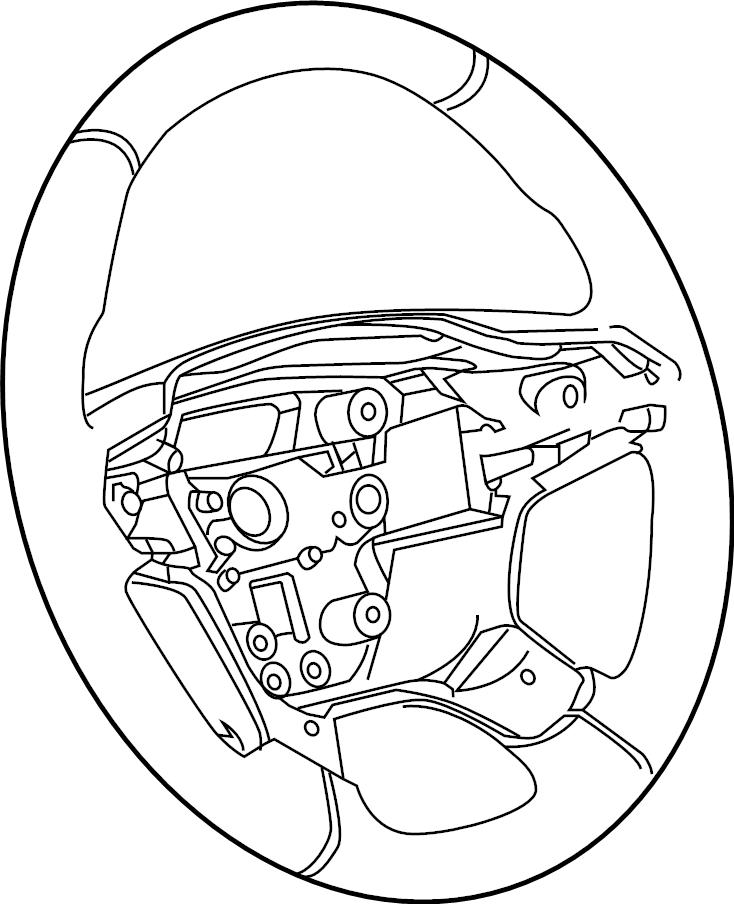 Chevrolet Colorado Steering Wheel. Cruise, CONTROL, Audio