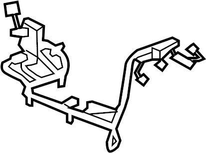 Cadillac Escalade Console Wiring Harness (Front