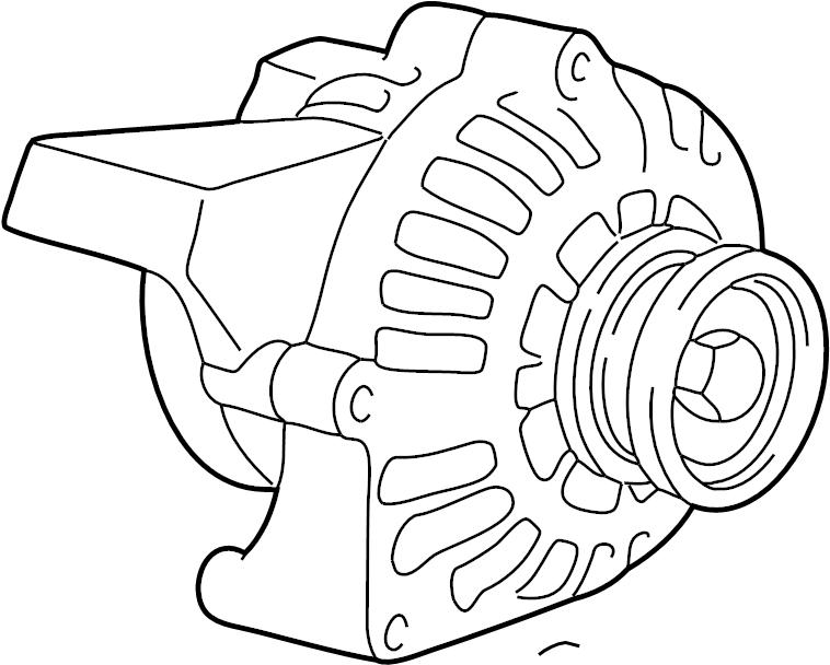 2011 Chevrolet Suburban 2500 Alternator. GENERATOR