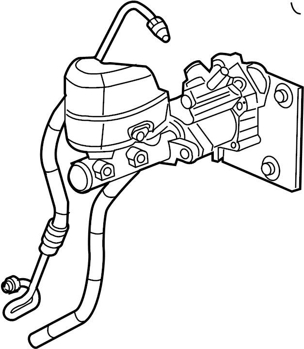 2010 Chevrolet Silverado 2500 HD Power Steering Pressure
