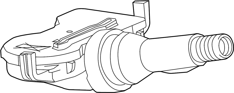 Chevrolet Volt Sensor. Pressure. Tire. Monitoring system