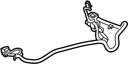 Chevrolet Silverado 1500 Power Seat Wiring Harness. CENTER