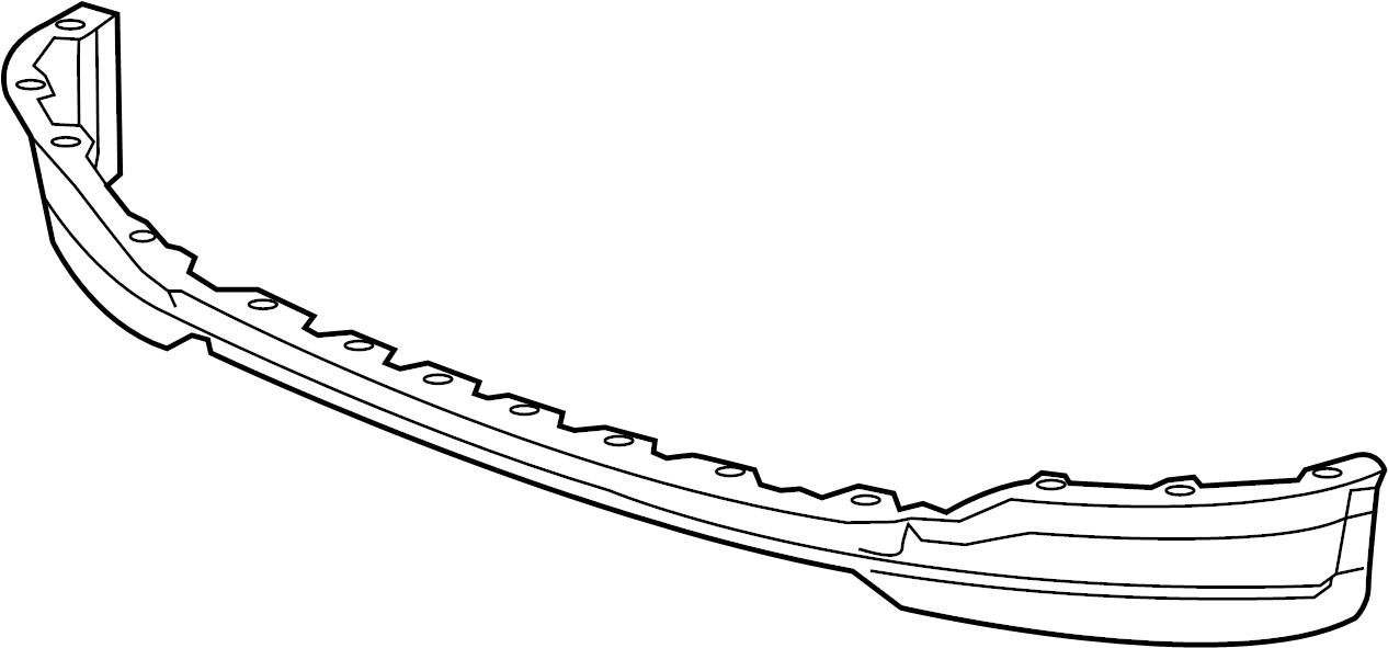 GMC Sierra 2500 HD Spoiler (Front, Lower). GMC, TRIM