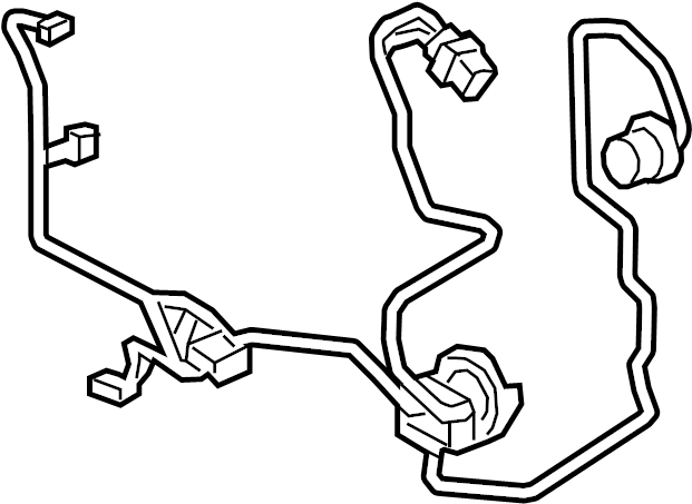 2015 Wire. Harness. Connector. Wiring Harness for