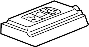 2016 Chevrolet Silverado 2500 HD Fuse box cover. Upper