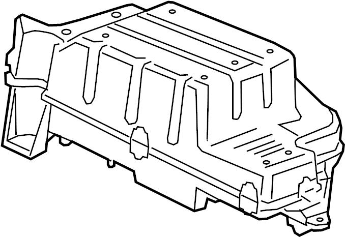Chevrolet Silverado 1500 Speaker. Console, CODE, Center