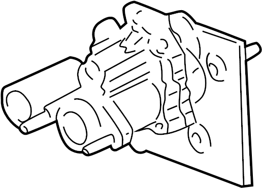 2004 Chevrolet Silverado 2500 HD Power Brake Booster