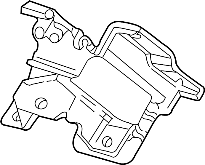 Chevrolet Silverado 1500 Engine Mount. Trans, GAS, Auto