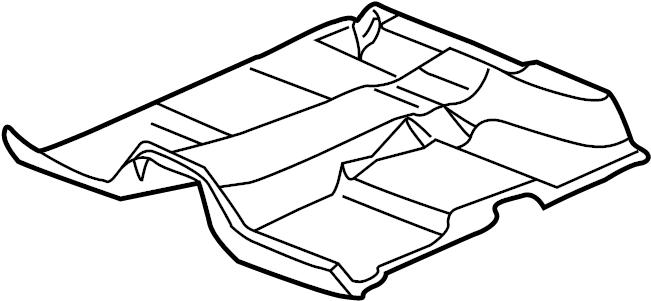2005 Chevrolet Silverado 1500 Floor Carpet. STANDARD CAB