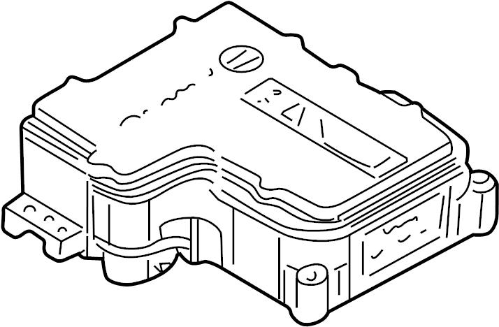 GMC Yukon Module. 1500, w/active brk cntrl. 2500. All, w