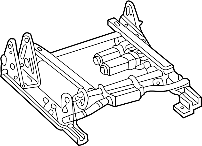 2000 GMC Seat. Adjuster. Adjust ASSEMBLY. Switch. Track